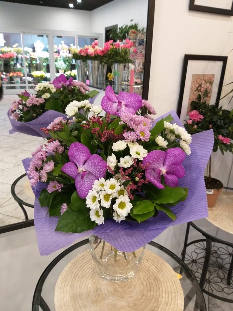 Свадебный букет, магадан доставка цветов